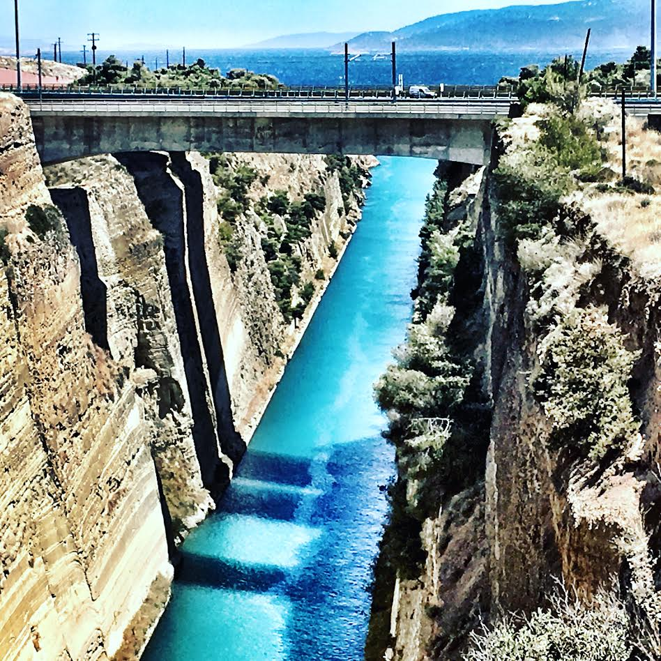 Greece – Corinth Canal, Wineyards and Athens!